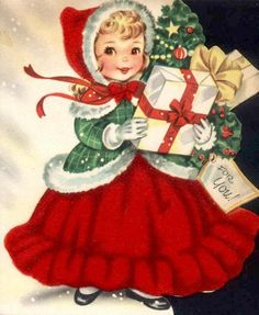 Vintage Christmas greeting....
