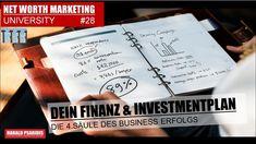 NVM & DS UNIVERSITY #28 - DIE 4.SÄULE - DEIN FINANZPLAN Direct Sales, Ds, University, Marketing, Business, Community College, Colleges
