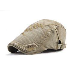 e8a93fc6256 Mens Summer Adjustable Cotton Beret Cap Sunshade Hats Duck Hat Outdoor  Sport Casual Cap Cool Hats