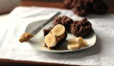 Chocolate Peanut Butter Muffins Sweetened Only With Honey + Bananas