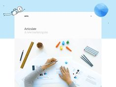 Dribbble articulate