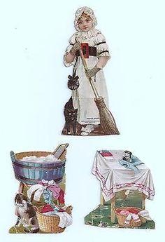 Antique 1800's Victorian Advertising Trade Card McLaughlin'' Coffee Mother Goose (09/28/2014)
