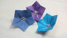 Origami Campanula/Bellflower  - Design Naomiki Sato