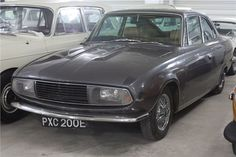 "1966 Rover/Alvis GTS prototype known as ""Gladys"""