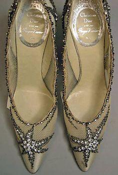 Roger Vivier - Dior - Escarpins de Soirée - 1960