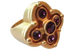 Amethyst Crystal Gold-Filled Ring on OneKingsLane.com from Maxwell's 9.13.34.  Sold!