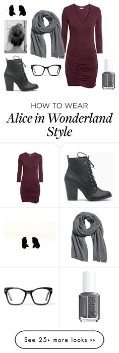 """Untitled #612"" by equestrianartist on Polyvore featuring H&M, Spitfire and Essie"