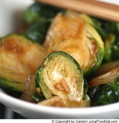These chinese-style Brussel's sprouts with a hoison glaze are an absolute clean plate favorite at our dinner table.