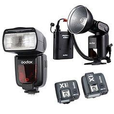 Black Godox PROPAC PB960 External Flash Power Battery Pack with Dual Output for Godox AD360II AD360 AD180 Flash Speedlite Canon Nikon Sony Speedlite