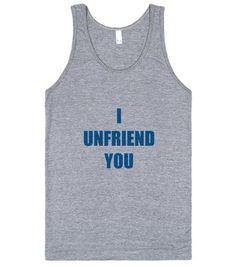 I Unfriend You