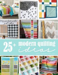 25+ Modern Quilting Ideas