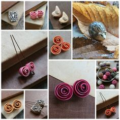 Autumnal Beads by Di