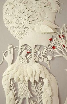 A closer look at the paper-cutting art of Elsa Mora