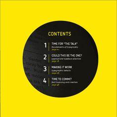 Font Shop publication #contents #index
