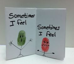 St. Louis Center for Play Therapy Training....thumbprint feelings book