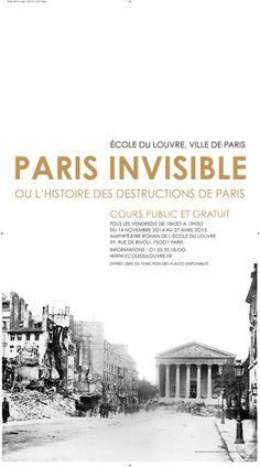 Affiche Ville de paris pour Ecole du Louvre Paris Ville, Rue, Bertrand, Movie Posters, Posters, Film Poster, Popcorn Posters, Film Posters