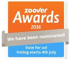 Zoover Award 2016 nomination