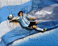 Lionel Messi Argentina Captain World Cup 2014