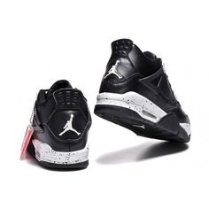 promo code 51be5 6199b air jordan 4 black leather white speckle 2015 retro oreo mens save 55% off  Jordan