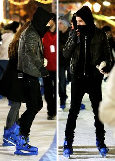 liam payne and sophia smith at Winter Wonderland in Hyde Park aww