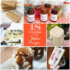 Great Ideas -- 18 Refreshing Ice Cream and Popsicle Recipes!