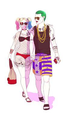♥ ❖♦S U M M E R M A D L O V E♥ ❖♦ «Joker & Harley» ♥ ♦