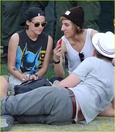 Kristen Steward at Coachella Music Fest April 19,2015