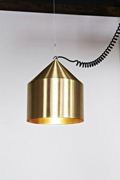 Pendant lamp / Bauhaus design / steel SILO LifeSpaceJourney