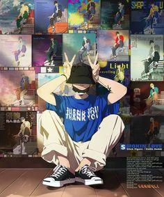 Drugs that make me dream Cartoon Kunst, Anime Kunst, Cartoon Art, Manga Art, Manga Anime, Anime Art, Aesthetic Anime, Aesthetic Art, Art And Illustration