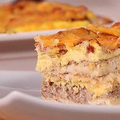 Some Evil Genius Created Pancake Lasagna