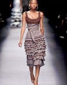shweshwe dresses 2017 and the latest nail art African Inspired Fashion, Africa Fashion, Ethnic Fashion, African Attire, African Wear, African Dress, African Style, African Women, African Traditional Dresses