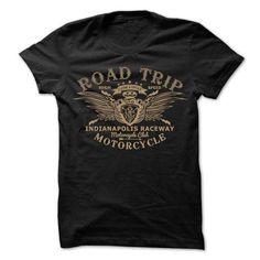 road trip indiana polis raceway - motorcycle clubs #hoodie #fashion