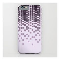 Pixel Rain iPhone & iPod Case ($35) ❤ liked on Polyvore featuring accessories, tech accessories and iphone & ipod cases
