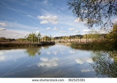 lake of Fermentelos, Portugal. - stock photo