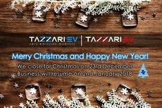 "Christmas is coming, Tazzari EV wishes you all Merry Christmas and Happy New Year! (an ""electrifying"" one!)  #TazzariEV #Christmas #MerryChristmas #Tazzari #zeroemission #NewYearsEve #Holidays #electriccar #EV #madeinitaly #imola #citycar #Zero #Christmas2017 #NewYear2017 #NewYearsEve2017 #nextgeneration #motorvalley"