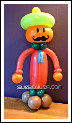 The Very Best Balloon Blog: Mustache or Moustache ... it's a 'growing' trend!