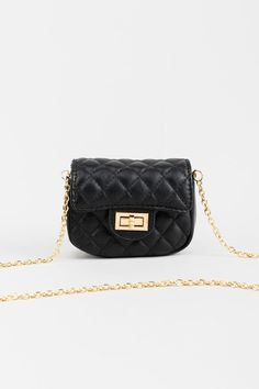 Kori Quilted Mini Crossbody Handbag Love Bracelets, Black Handbags, Cross Body Handbags, Mini, Shopping, Accessories, Outfit, Check, Products