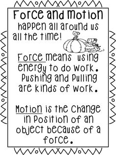 motion science projects | Pin by Trisha Nedball-Figueroa on School Ideas | Pinterest