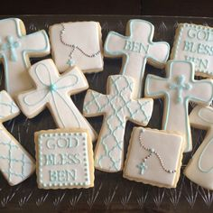 a sweeter place: First Communion Cookies