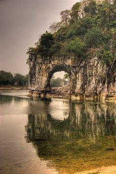 Elephant Mount ~ Giu Lin, China