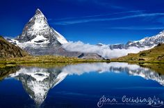 Someday I'll visit the Swiss...such a pure shot.