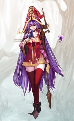 Lulu league of legends Fan Art