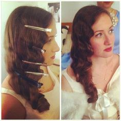 Waves Hairstyle Here's An Easy Way To Learn How To Finger Wave With A Curling Iron