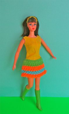 Dramatic New Living Barbie, 1968 | Flickr - Photo Sharing!