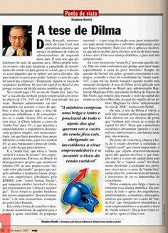 Em 2007 o autor já apoiava a tese de Dilma sobre a  queda dos juros e do spread bancário.