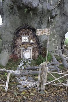 Faerie Houses at the Florence Griswold Museum www.florencegrisw...