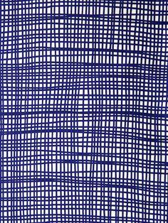 Ruta Navy Fabric by Lotta Jansdotter