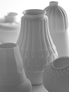 To all those white matte pottery lovers.  What's next? How about these? Can't wait for your response...