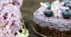 Recept na nepečený borůvkový cheesecake