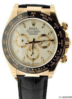 Mens Rolex Daytona Cosmograph Ivory Dial Everose Gold | discount watches for men Item ID: 300W109193 | 300watches